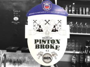 Bath Rugby Ladies' favourite pint: Piston Broke