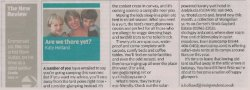 Independent on Sunday travel review