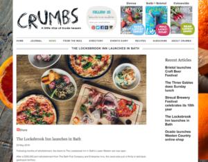 Crumbs online coverage