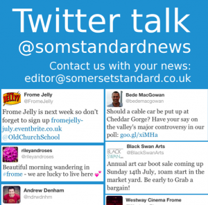 Click on the image to see this week's Somerset Standard Twitter column in full