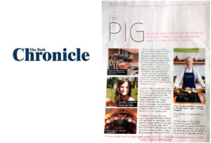Bath Chronicle coverage for the Pear Tree Inn