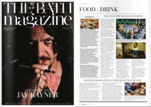 Bath Magazine coverage, May 2016