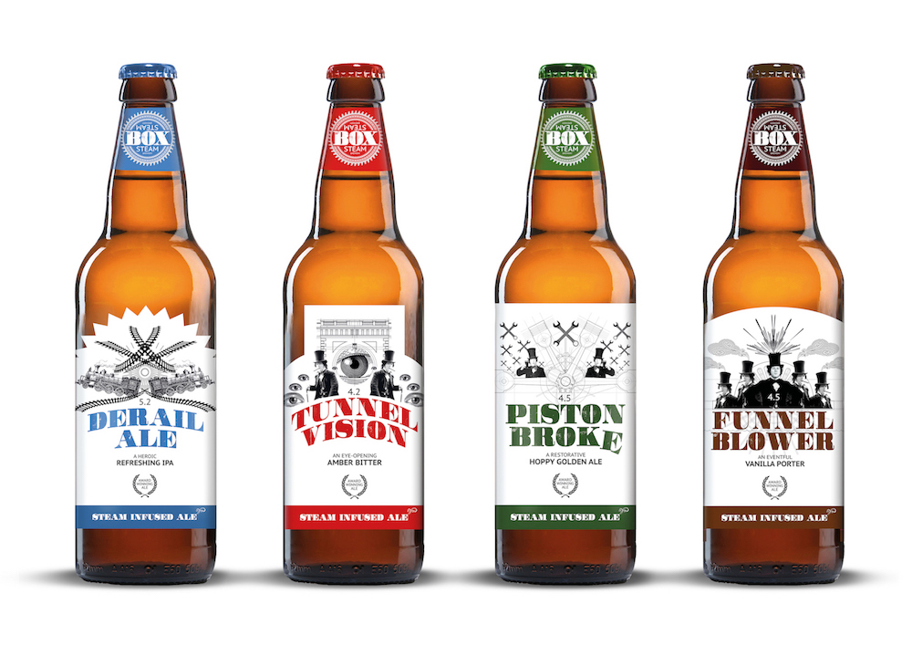 Press release / Box Steam unveils new beer and branding for 2019