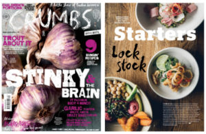 Crumbs magazine coverage, June 2016