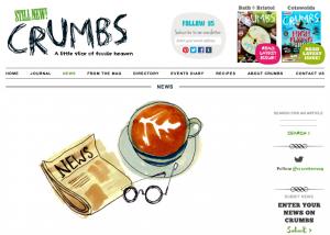 Crumbs food magazine