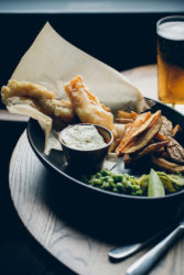 Brixham battered fish & chips