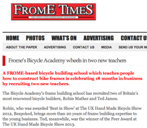 Frome Times coverage