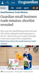 Press coverage in The Guardian