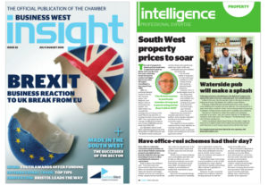 Insight Business magazine, pub launch coverage