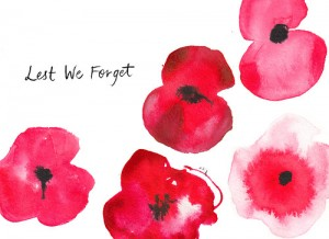 Alice Tait's Lest We Forget poppies