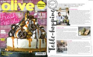 Olive magazine review, September 2016