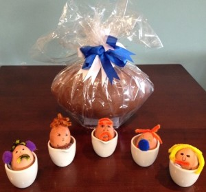 Spot Bath Rugby's captain! Easter eggheads will be on display at Farleigh Road Farm Shop & Café over Easter