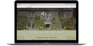 Pear Tree Inn website