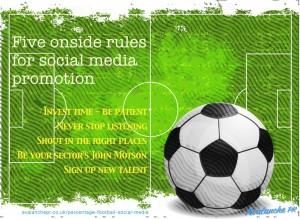 Onside rules for social media