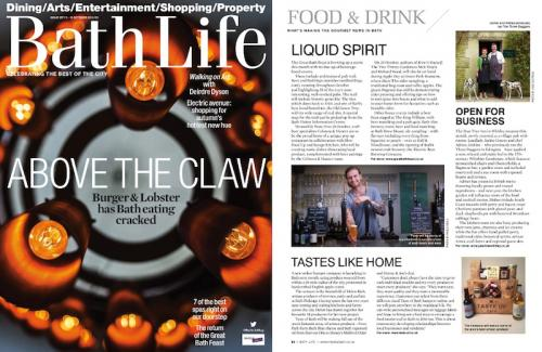 More Bath Life coverage from the press launch of the Pear Tree Inn, Wiltshire