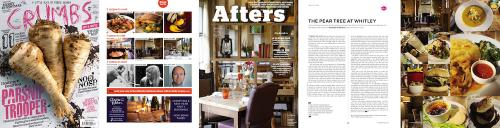 Review and press coverage for the Pear Inn, in Crumbs magazine