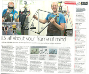 The Bicycle Academy hits The Telegraph's Tour de France Weekend supplement