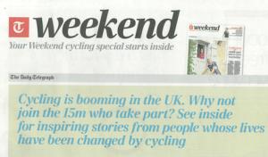 The Telegraph Weekend supplement