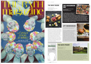 Bath Magazine coverage for the Locksbrook Inn, Bath, July 2016
